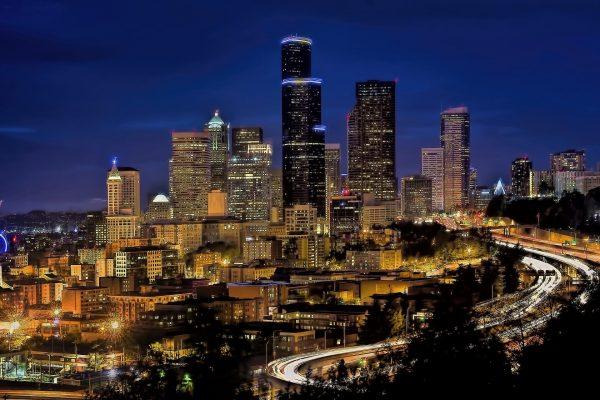 Seattle Skyline Washington - Bucket List